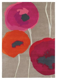 Brink&Campman Sanderson Poppies  45700 red/orange